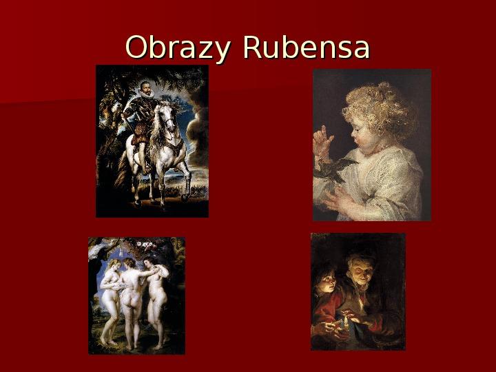 Sztuka barokowa w Polsce i Europie - Slajd 11