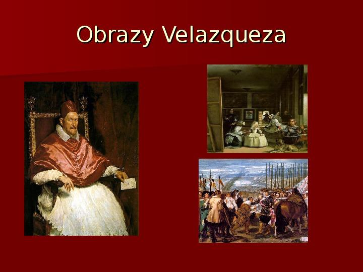 Sztuka barokowa w Polsce i Europie - Slajd 20