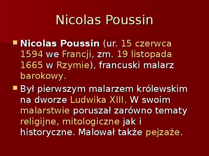 Sztuka barokowa w Polsce i Europie - Slajd 23