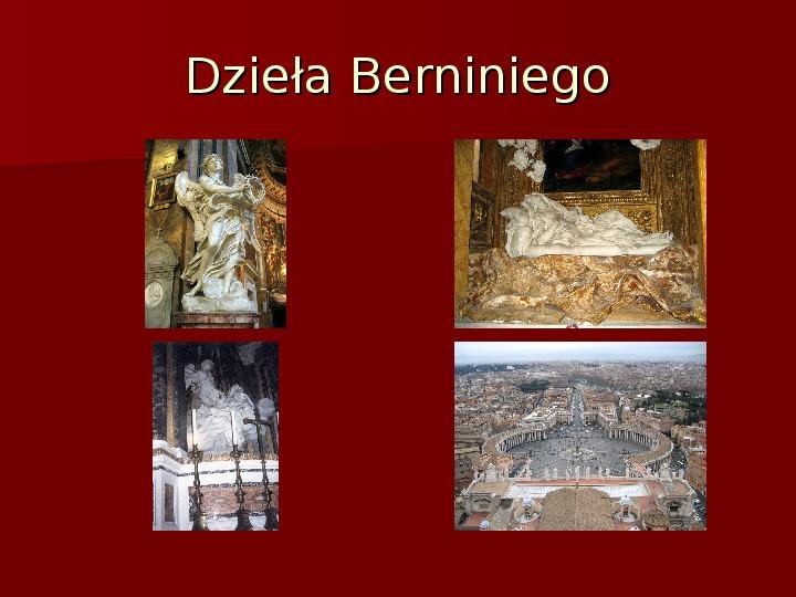Sztuka barokowa w Polsce i Europie - Slajd 26