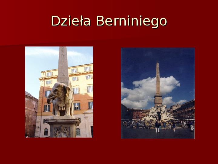 Sztuka barokowa w Polsce i Europie - Slajd 27