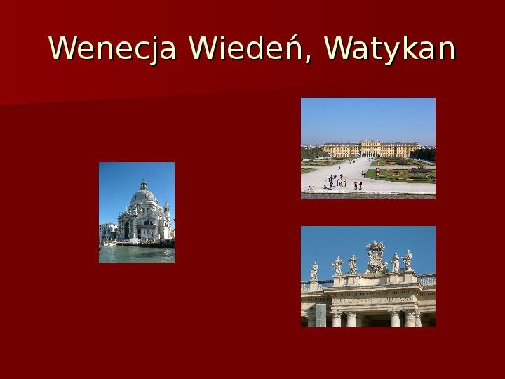 Sztuka barokowa w Polsce i Europie - Slajd 32