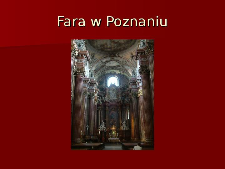 Sztuka barokowa w Polsce i Europie - Slajd 37