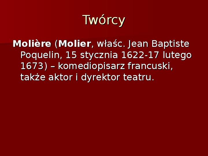 Sztuka barokowa w Polsce i Europie - Slajd 42