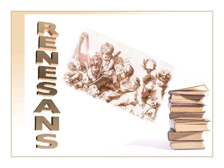 Renesans - Slajd 1