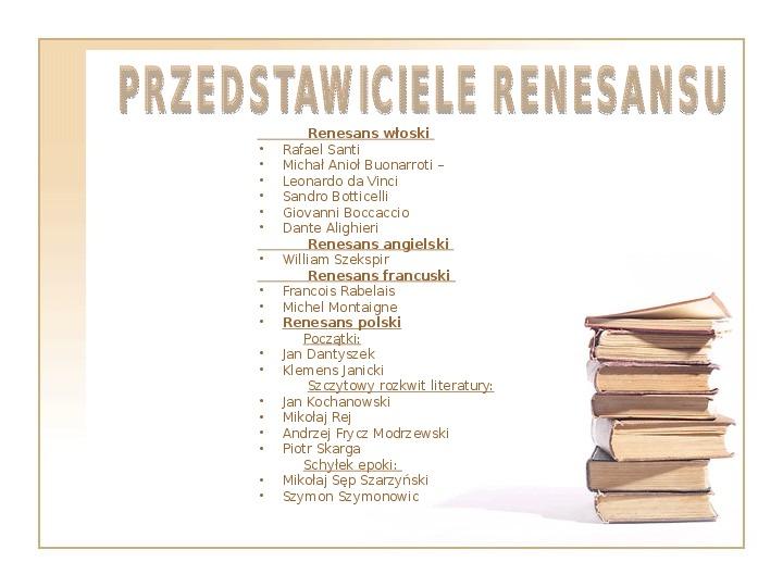 Renesans - Slajd 5