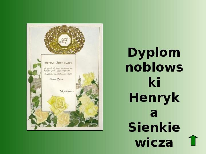 Polscy nobliści w dziedzinie literatury - Slajd 4