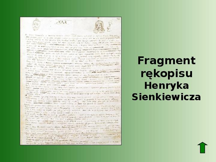 Polscy nobliści w dziedzinie literatury - Slajd 6