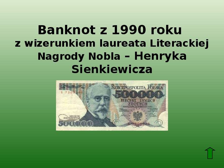 Polscy nobliści w dziedzinie literatury - Slajd 8