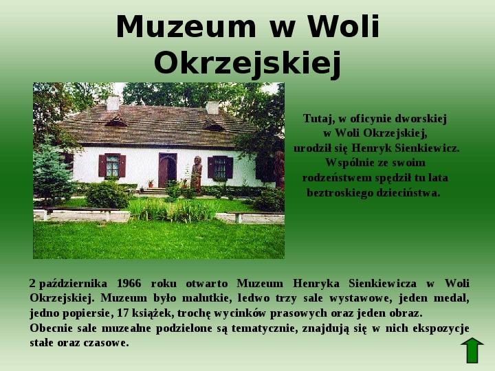 Polscy nobliści w dziedzinie literatury - Slajd 10