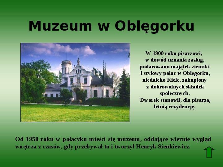Polscy nobliści w dziedzinie literatury - Slajd 12