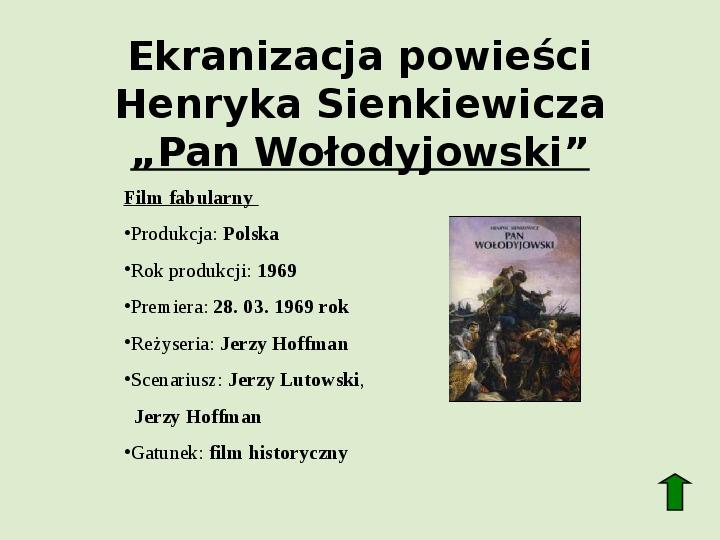 Polscy nobliści w dziedzinie literatury - Slajd 16