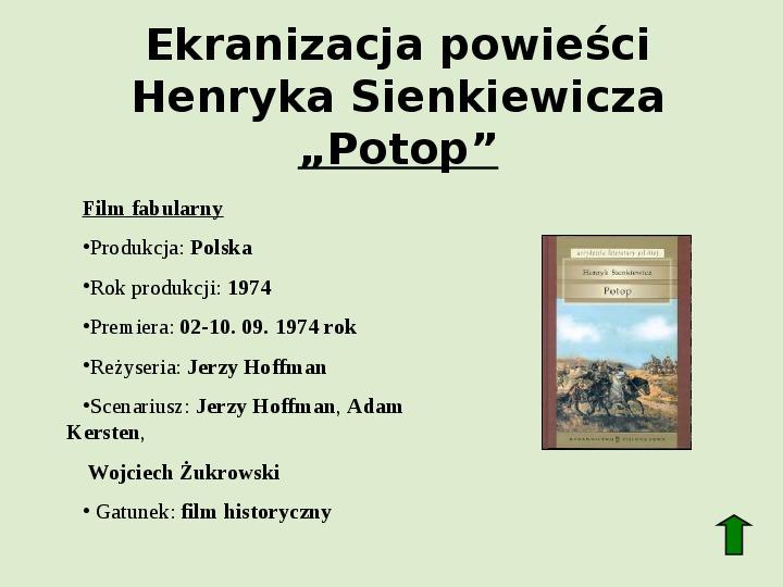 Polscy nobliści w dziedzinie literatury - Slajd 18
