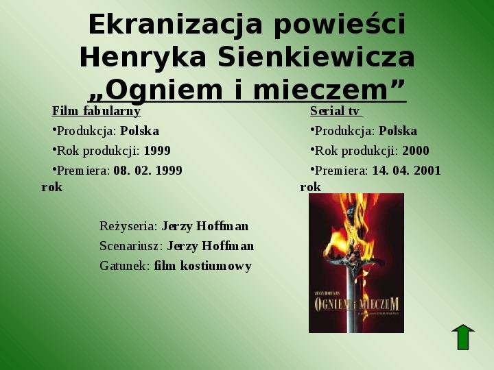 Polscy nobliści w dziedzinie literatury - Slajd 20