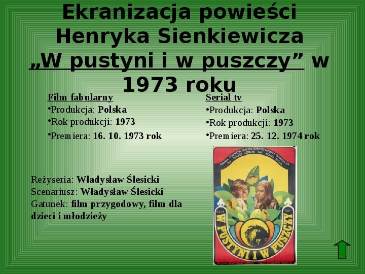 Polscy nobliści w dziedzinie literatury - Slajd 22