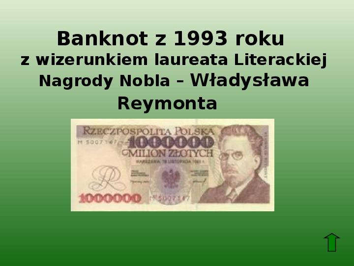 Polscy nobliści w dziedzinie literatury - Slajd 36