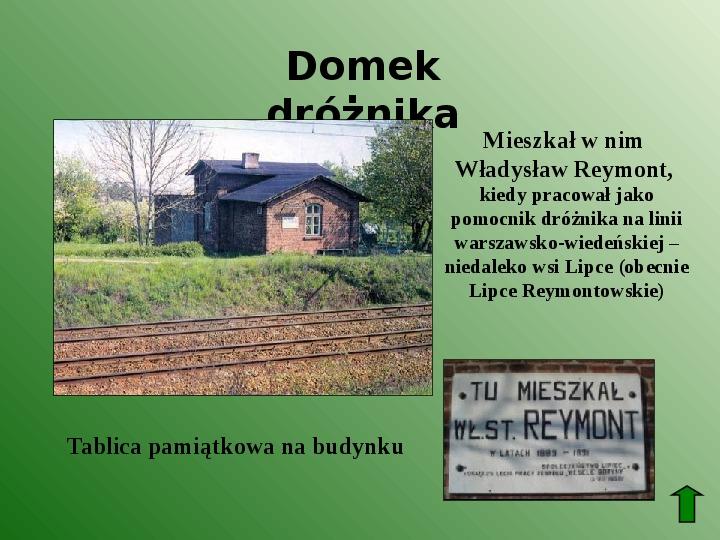 Polscy nobliści w dziedzinie literatury - Slajd 40