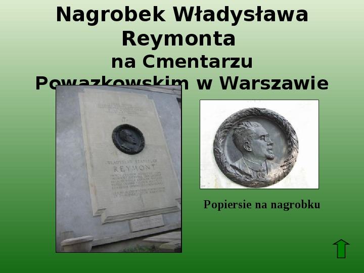 Polscy nobliści w dziedzinie literatury - Slajd 43
