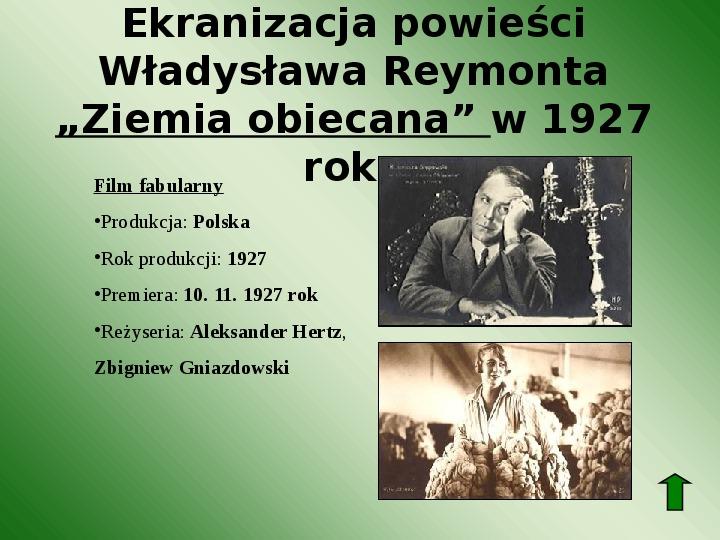 Polscy nobliści w dziedzinie literatury - Slajd 44
