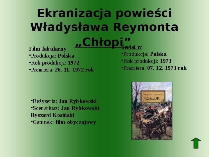 Polscy nobliści w dziedzinie literatury - Slajd 47