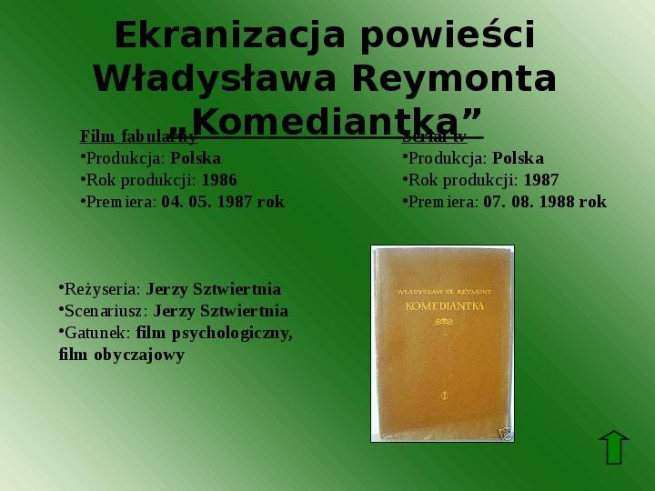Polscy nobliści w dziedzinie literatury - Slajd 49