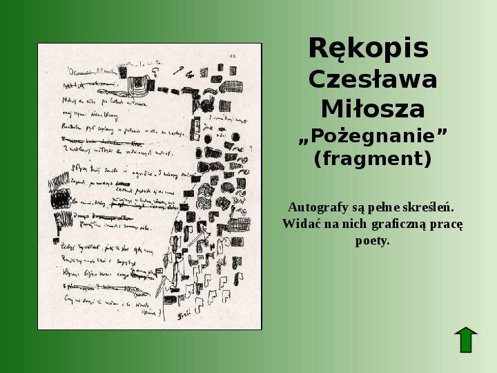 Polscy nobliści w dziedzinie literatury - Slajd 55