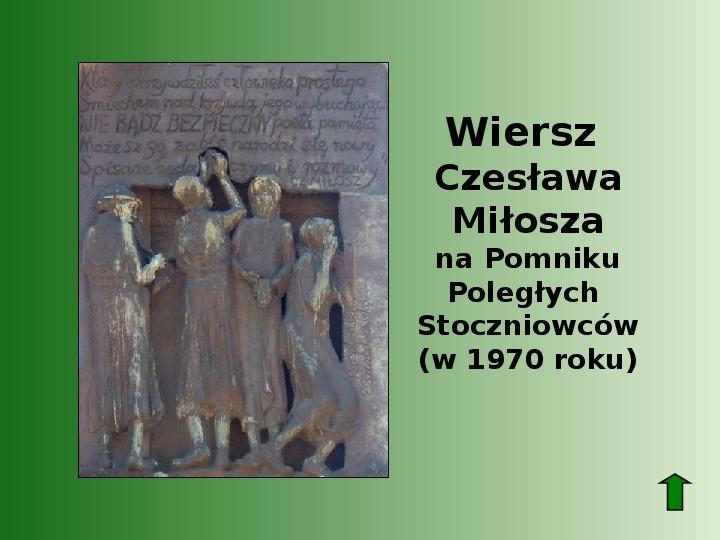 Polscy nobliści w dziedzinie literatury - Slajd 57