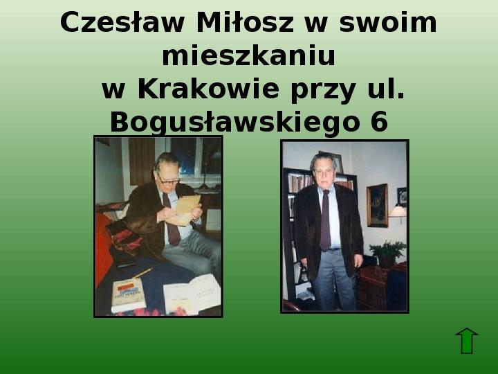 Polscy nobliści w dziedzinie literatury - Slajd 58