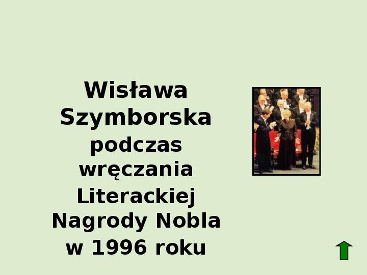 Polscy nobliści w dziedzinie literatury - Slajd 65