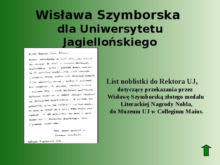 Polscy nobliści w dziedzinie literatury - Slajd 67