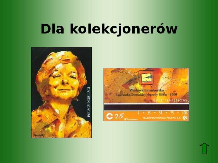 Polscy nobliści w dziedzinie literatury - Slajd 69