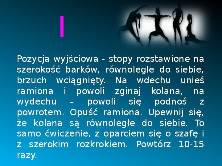Ruch to zdrowie - Slajd 11