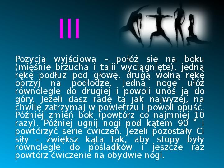 Ruch to zdrowie - Slajd 13