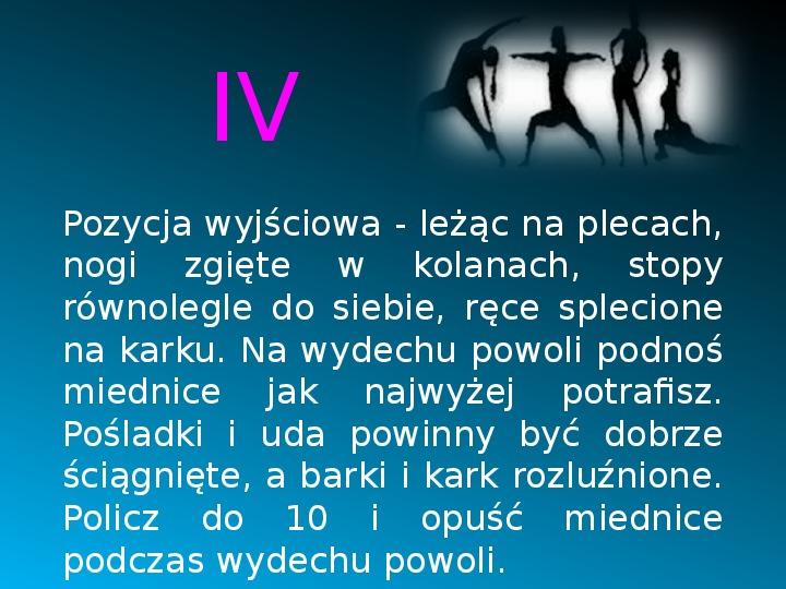 Ruch to zdrowie - Slajd 14