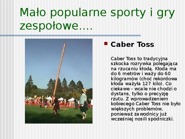 Sport to też rekreacja - Slajd 6