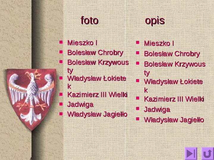 Królowie polscy - Slajd 1