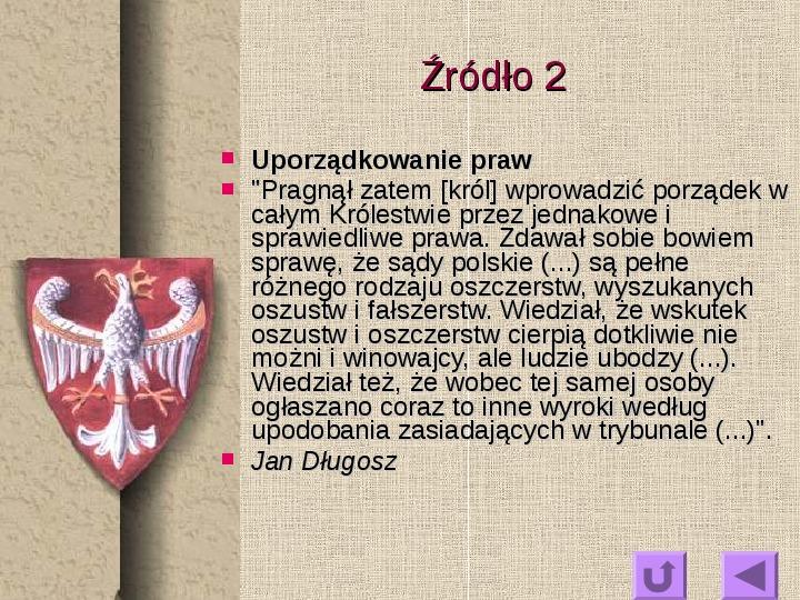 Królowie polscy - Slajd 5