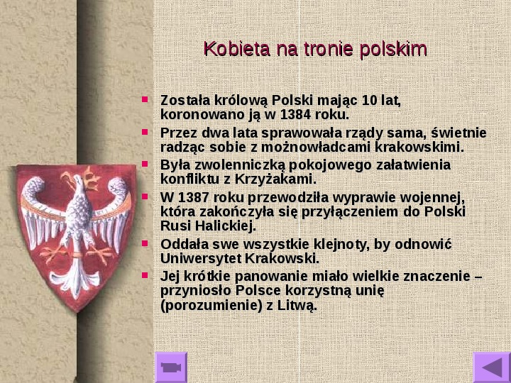 Królowie polscy - Slajd 12
