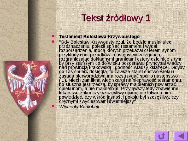 Królowie polscy - Slajd 16