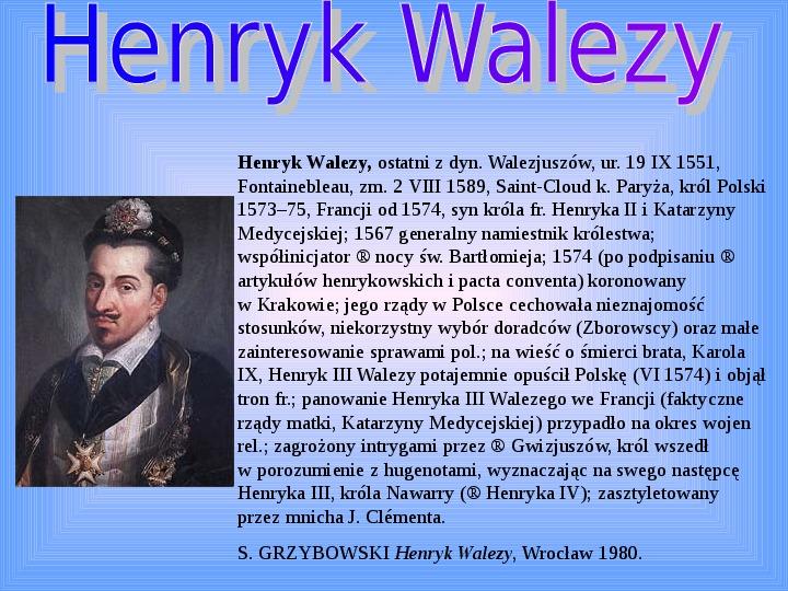 Polscy królowie elekcyjni - Slajd 2