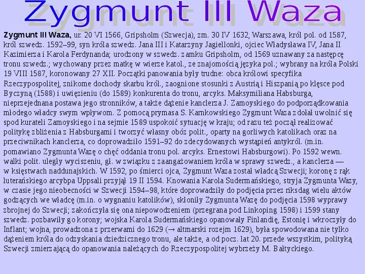 Polscy królowie elekcyjni - Slajd 4