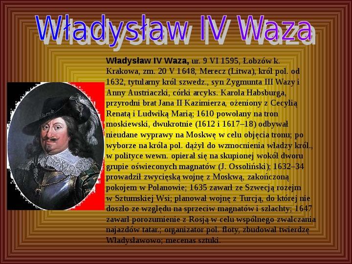 Polscy królowie elekcyjni - Slajd 6