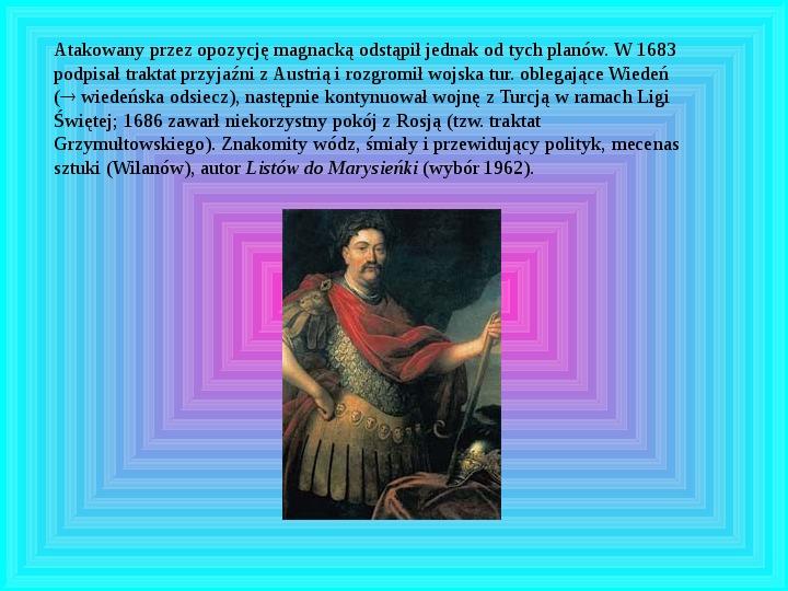 Polscy królowie elekcyjni - Slajd 10