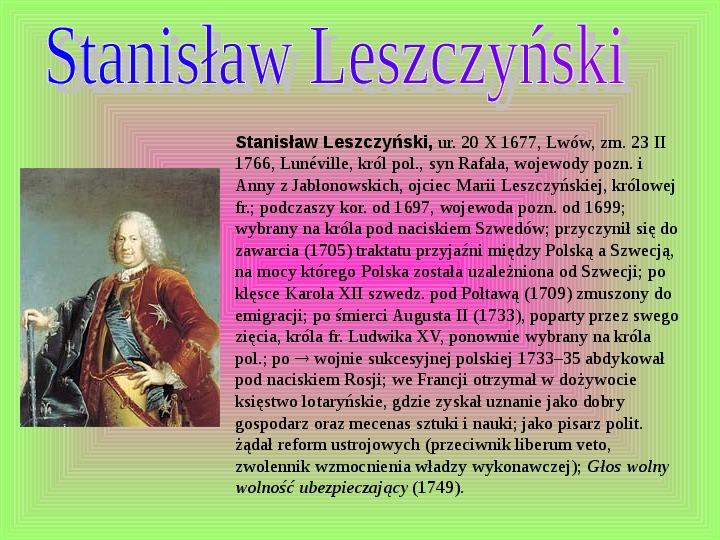 Polscy królowie elekcyjni - Slajd 12