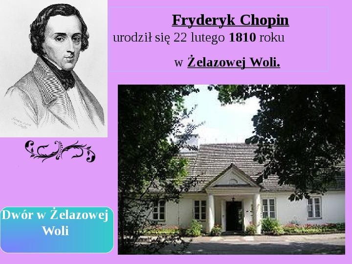 Fryderyk Chopin - największy polski kompozytor - Slajd 1