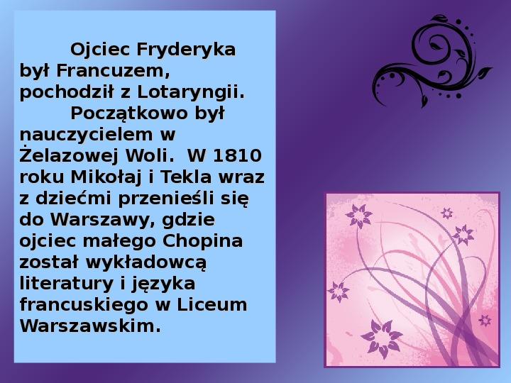 Fryderyk Chopin - największy polski kompozytor - Slajd 3