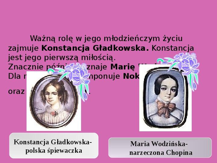 Fryderyk Chopin - największy polski kompozytor - Slajd 15
