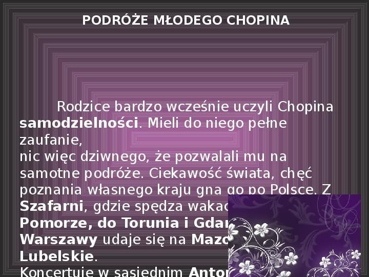Fryderyk Chopin - największy polski kompozytor - Slajd 16