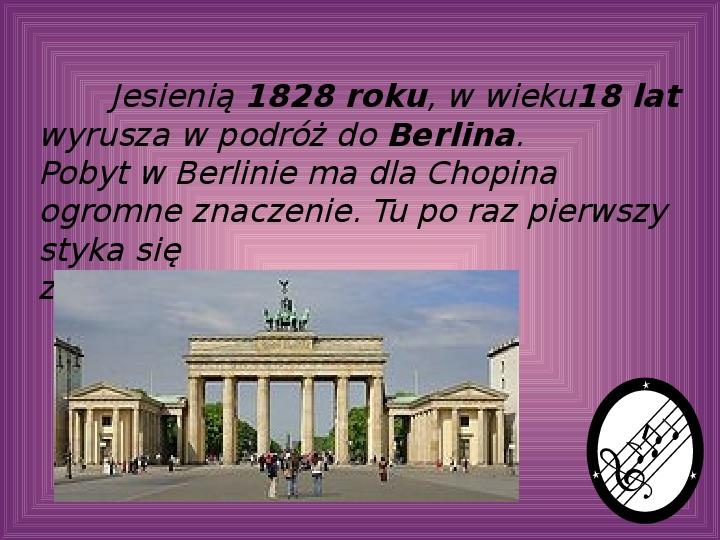 Fryderyk Chopin - największy polski kompozytor - Slajd 17