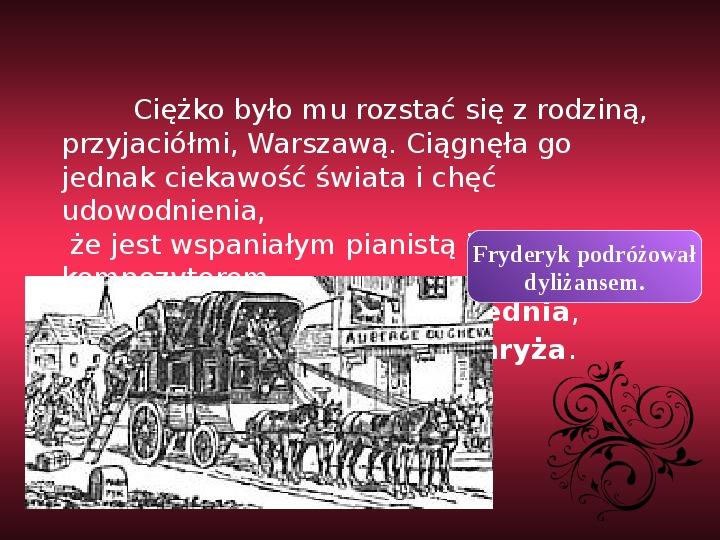 Fryderyk Chopin - największy polski kompozytor - Slajd 20